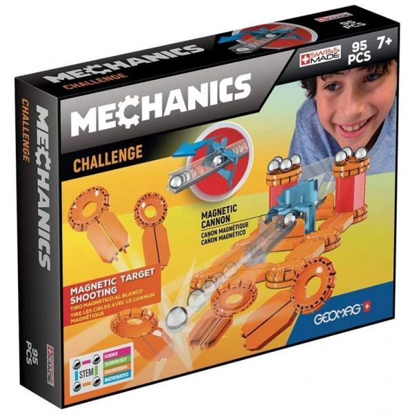 Geomag Mechanics Magnetic Construction- 95 Pieces