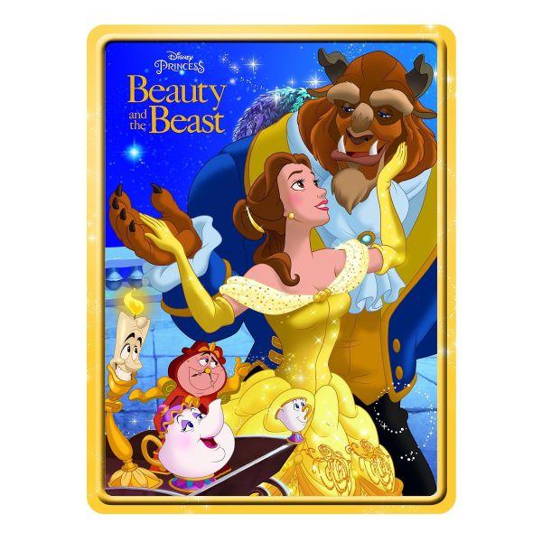 Disney Princess Beauty and The Beast Happy Tin