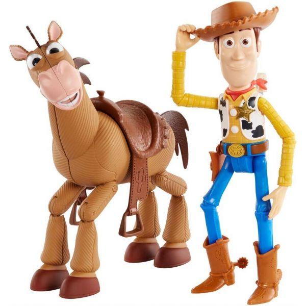 """Toy Story 4 7"""" Woody & Bullseye Figures"""