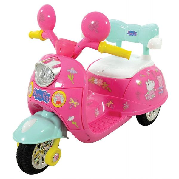 Peppa Pig 6V Battery Operated Motorbike Ride On