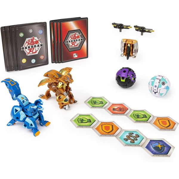 Bakugan Baku-Gear 4-Pack