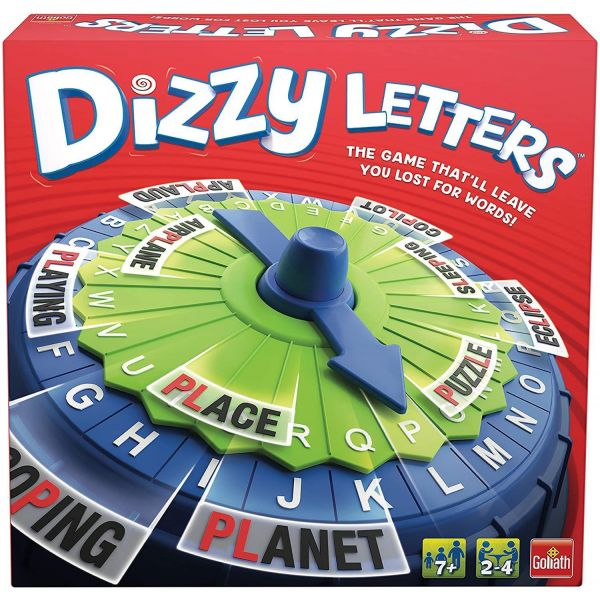 Dizzy Letters Disc Game