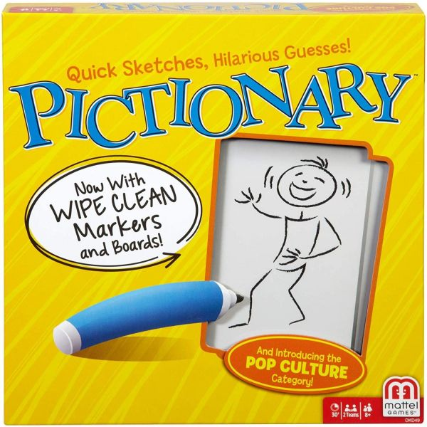 Pictionary Quick-draw Guessing Game