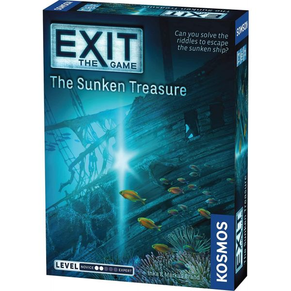 Thames and Kosmos Exit The Sunken Treasure