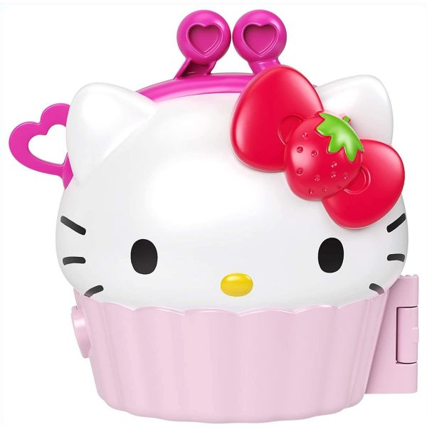 Hello Kitty Mini Playset Noteables Cupcake Compact