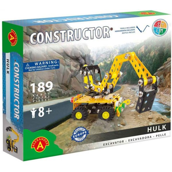 Constructor Hulk Excavator Construction Set