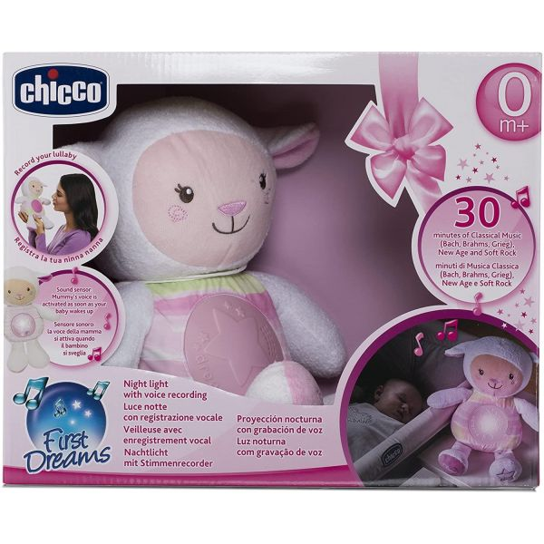 Chicco Pink Lullaby Sheep