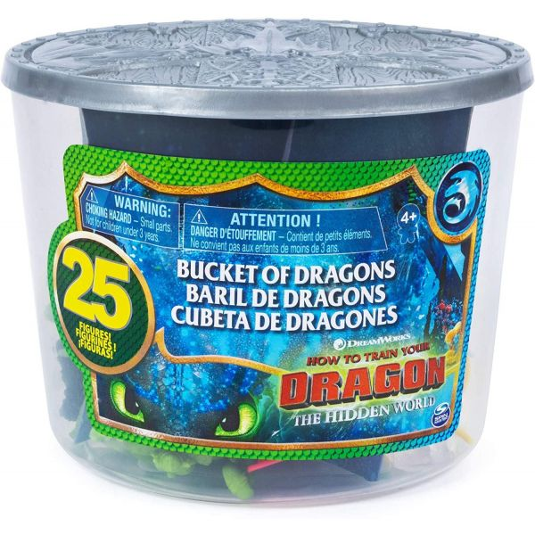 How to Train Your Dragon Bucket of Dragons
