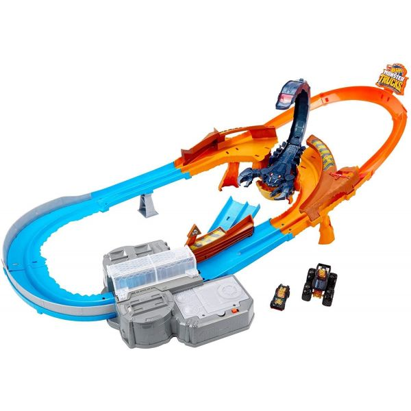 Hot Wheels Monster Trucks Scorpion Raceway