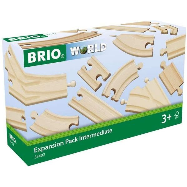 BRIO World Wooden Intermediate Expansion Pack