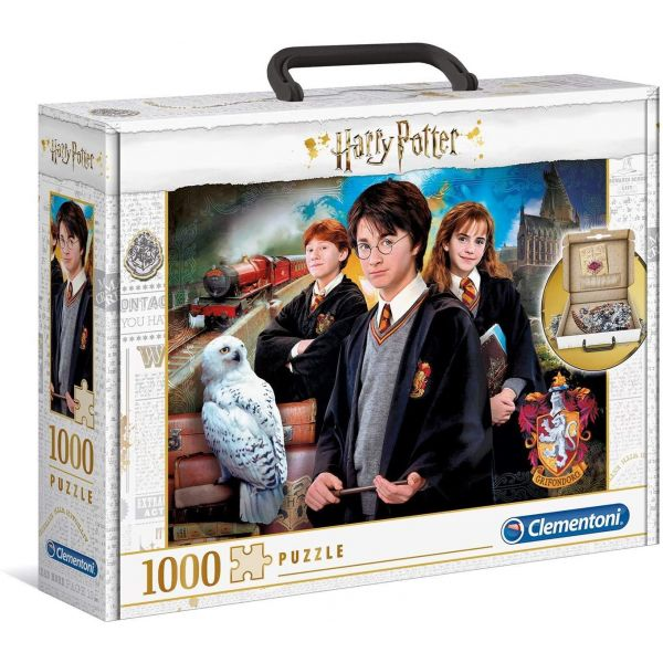 Clementoni 1000 Piece Harry Potter Briefcase Puzzle