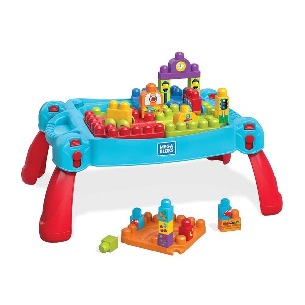 Fisher Price Mega Bloks Build & Learn Table Classic