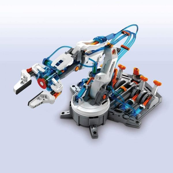 Construct and Create Hydraulic Robot Arm