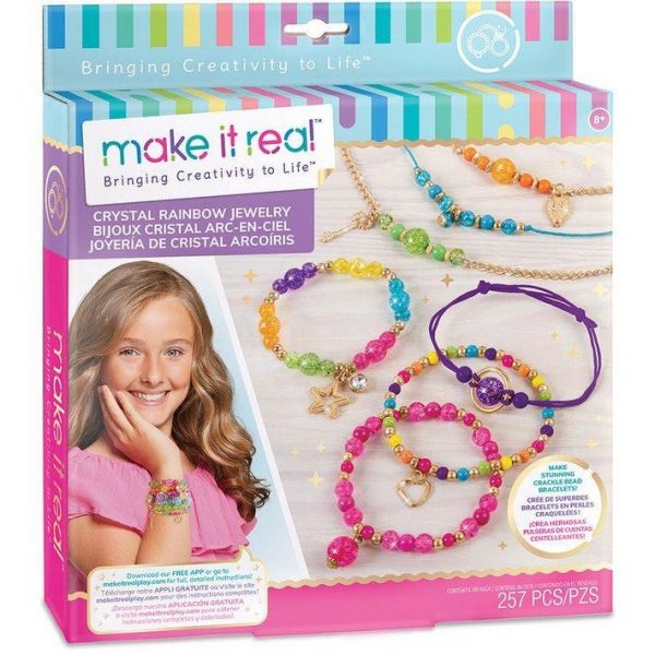 Make It Real Crystal Rainbow Jewelry