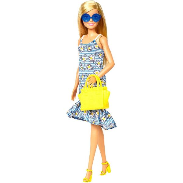 Barbie Floral Dress Doll