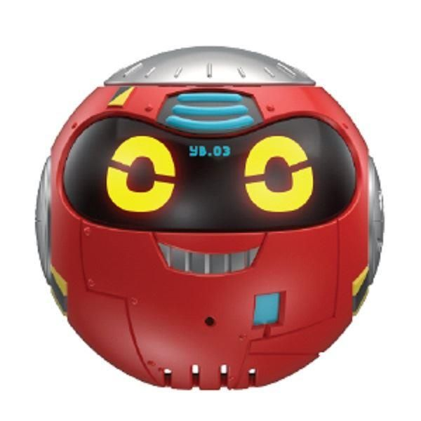 Really Rad Robots Yakbot Red