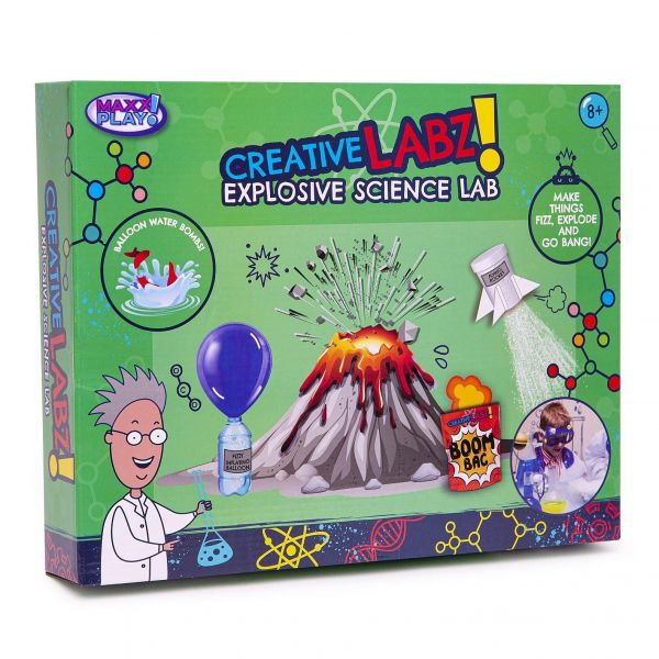 Creative Labz Explosive Science Kit Lab
