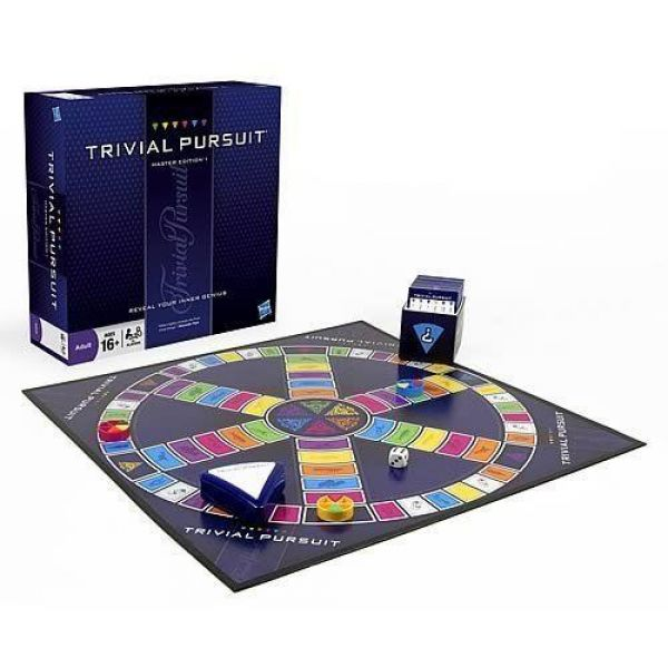 Trivial Persuit Master Edition Board Game
