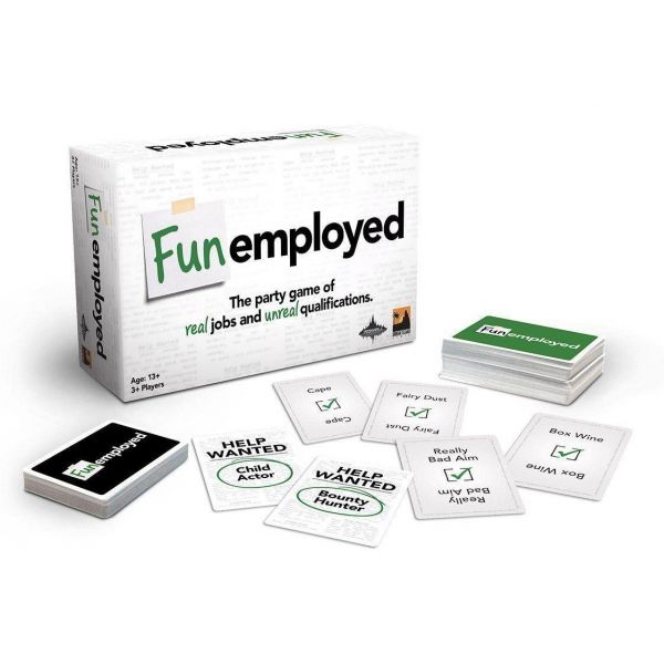 Fun Employed Card Game