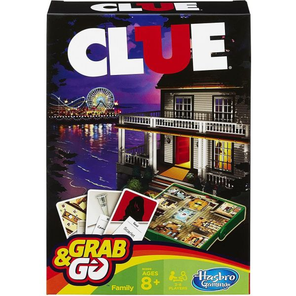 Clue Grab and Go Card Game