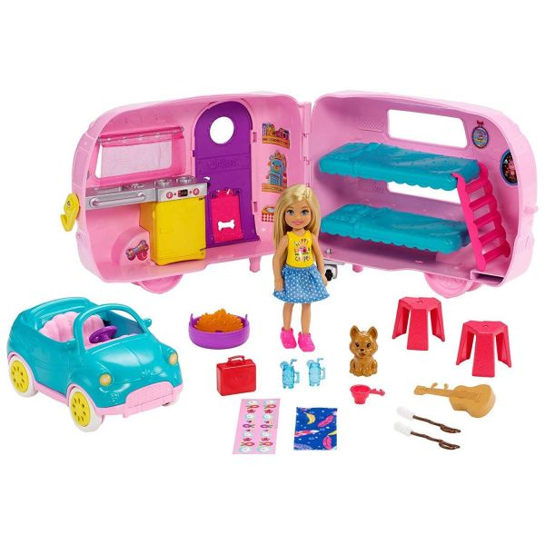 Barbie Club Chelsea Camper