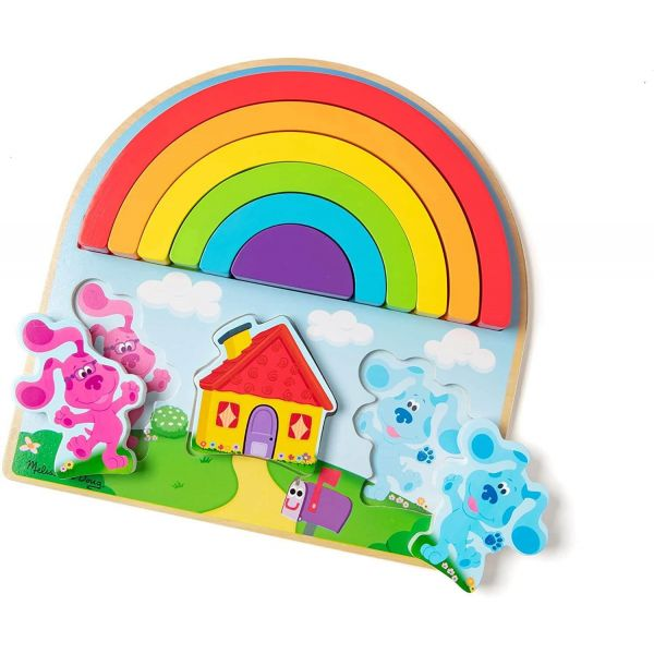 Blue's Clues & You! Wooden Rainbow Stacking Puzzle