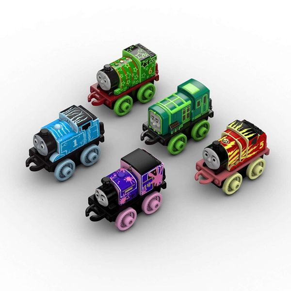 Thomas & Friends Minis 5 Pack Glow In The Dark