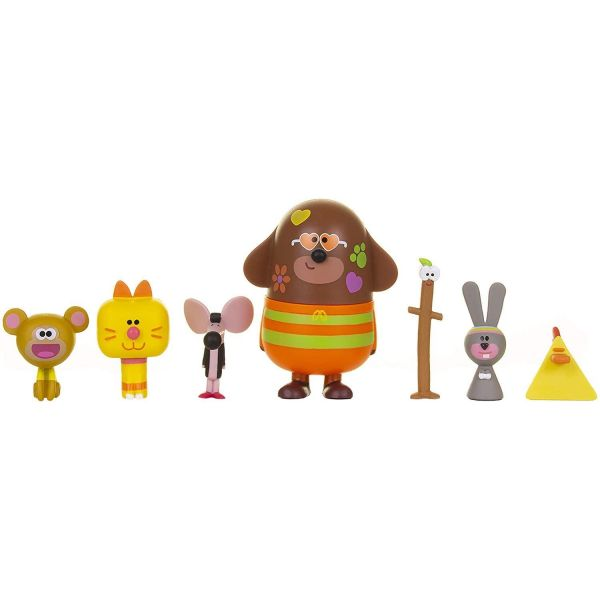 Hey Duggee Duggee and Friends Figurine Set