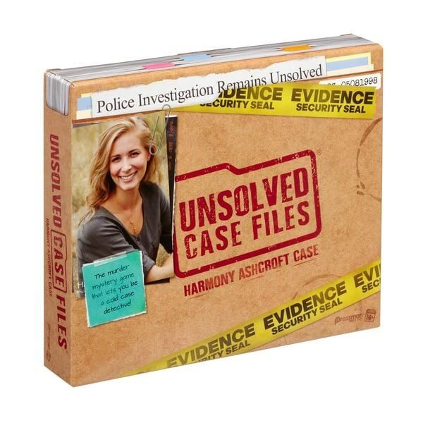 Unsolved Case Files Harmony Ashcroft Murder Mystery Game