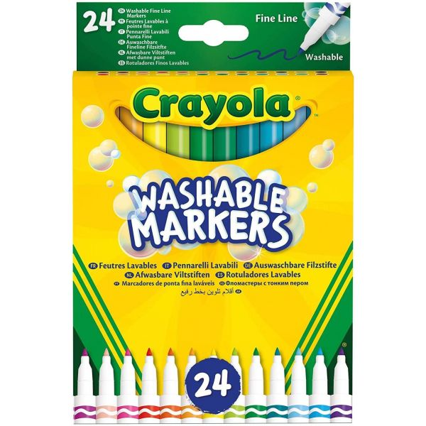 Crayola 24 Washable Markers