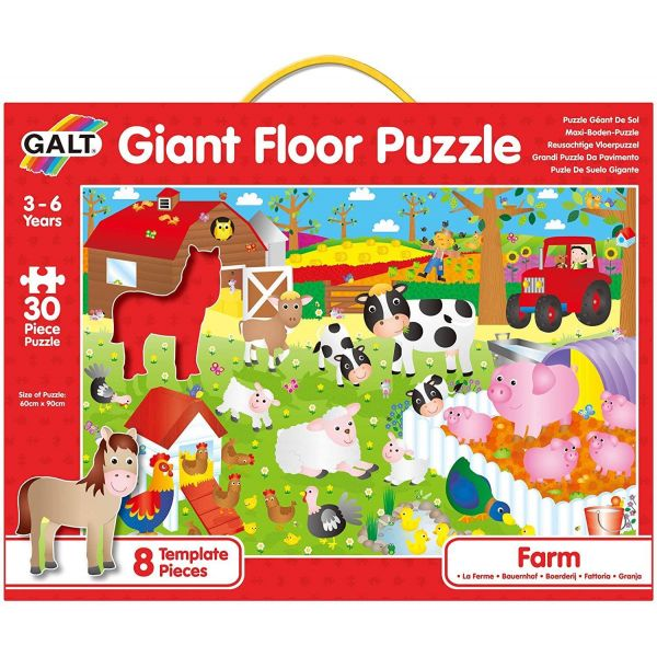 Galt Farm Giant Floor Puzzles