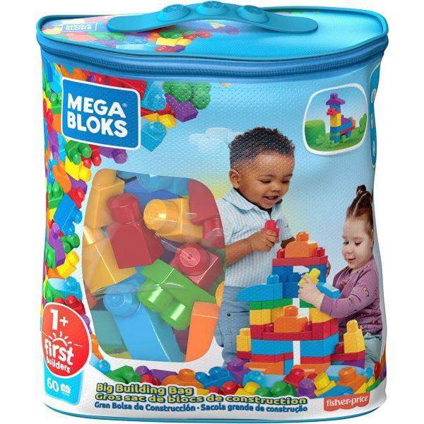 Mega Bloks 60 Pieces Bag Blue