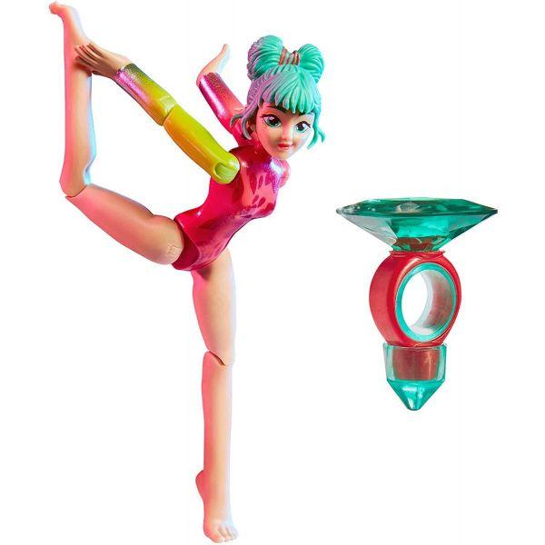 Team Gem Jade Magic Balance Gem Gymnast Doll