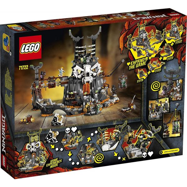 Lego Ninjago Skull Sorcerer's Dungeons71722