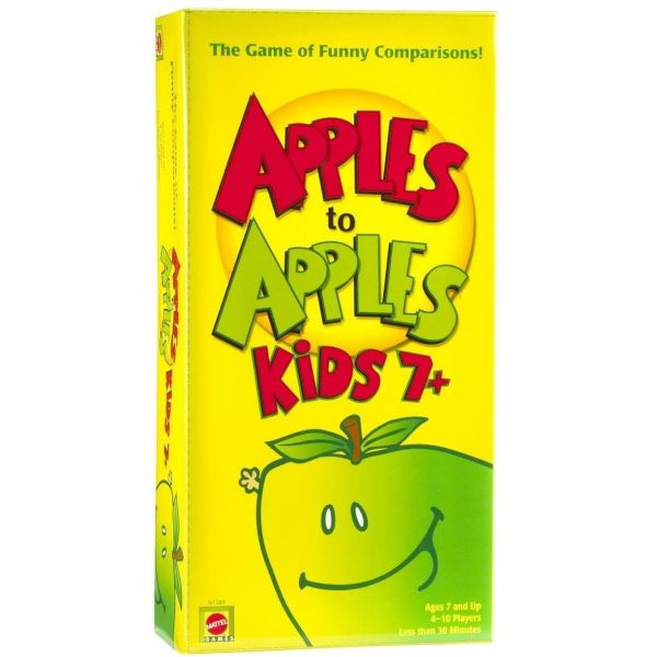 Apple To Apples Kids The Game of Crazy Comparisons