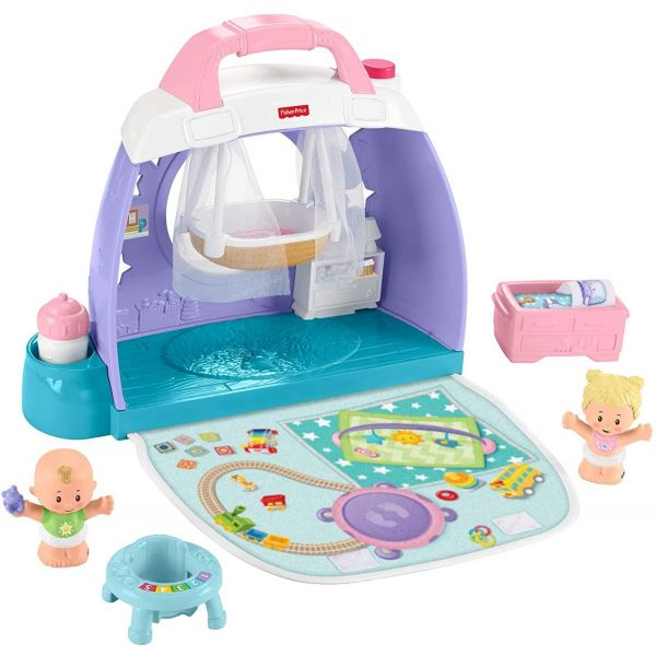 Fisher Price Little People Baby Cuddle n Play Nursery