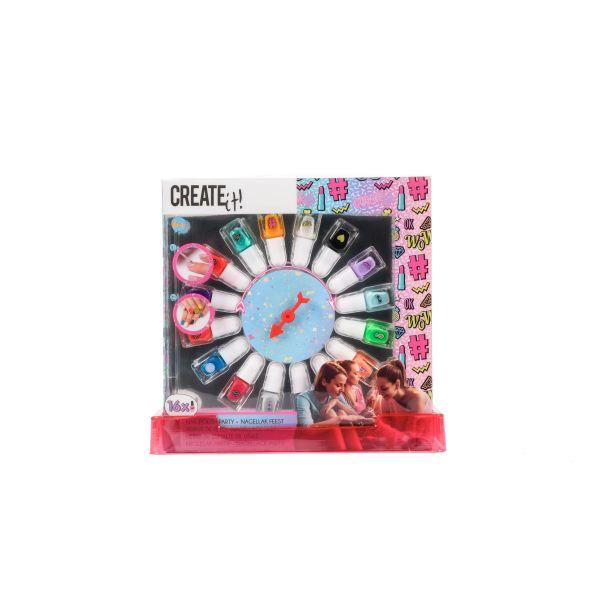 Create It! Nail Polish Wheel