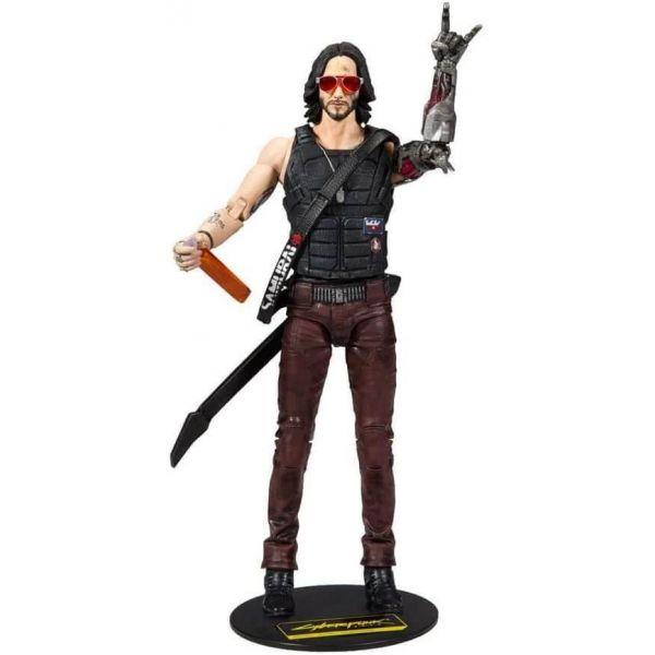 Cyberpunk 2077 Johnny Silver Hand 7 inch Figure