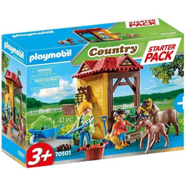 Playmobil 70501 Horse Farm Starter Pack