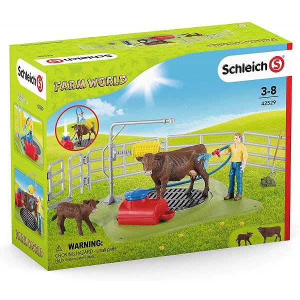 Schleich Farm World Happy Cow Wash