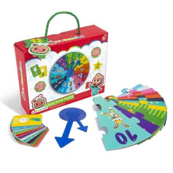 Cocomelon My First Clock Floor Puzzle