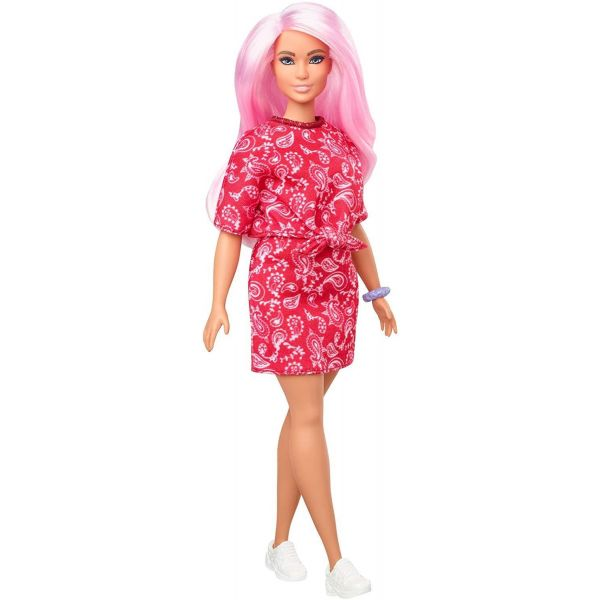 Barbie Fashionista Red Paisley Co-ord Set Doll