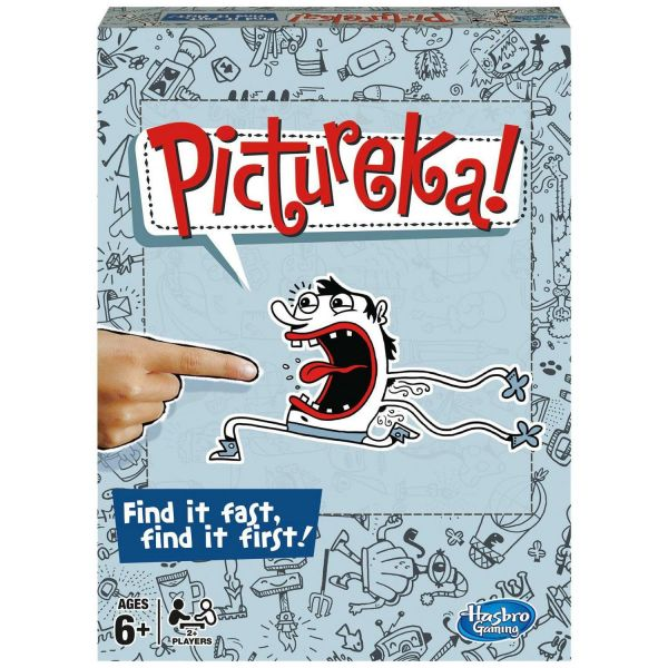 Hasbro Pictureka Board Game