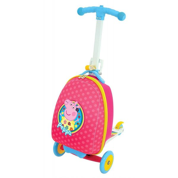 Peppa Pig 3-in-1 Scootin' Suitcase