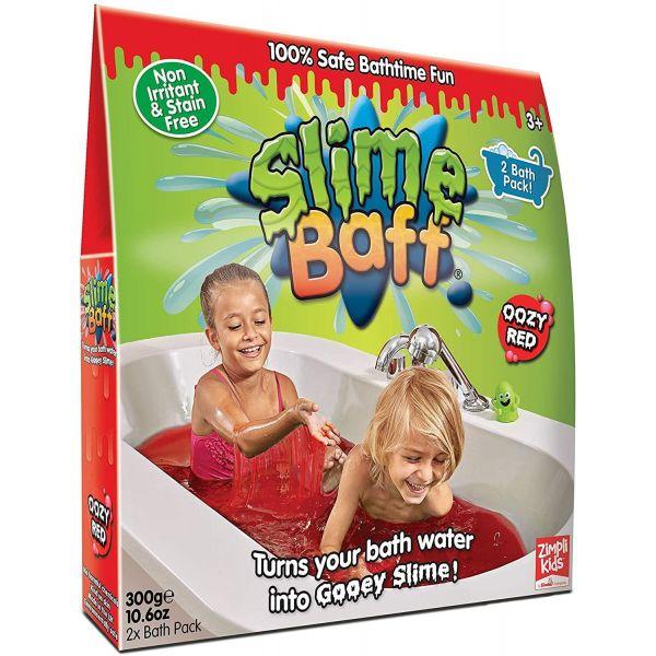 Zimpli Kids Slime Baff 300g Twin Pack Red