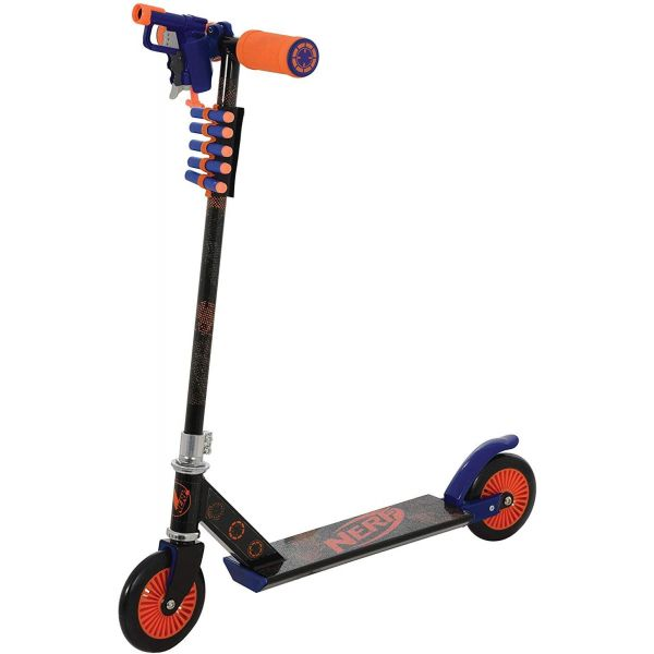 Nerf Blaster Inline Scooter with Gun & Darts