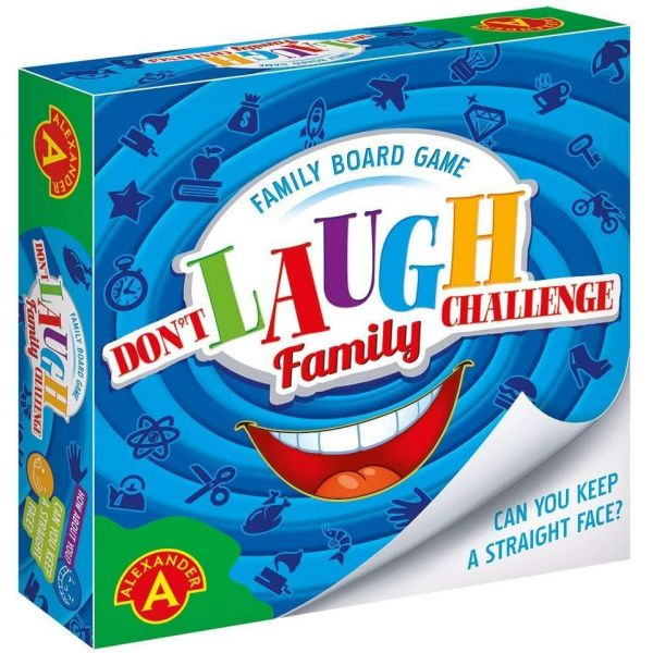 Don't Laugh Challenge- Family Board Game