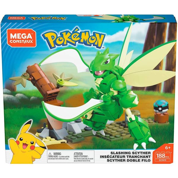 Mega Construx Pokemon Slashing Scyther