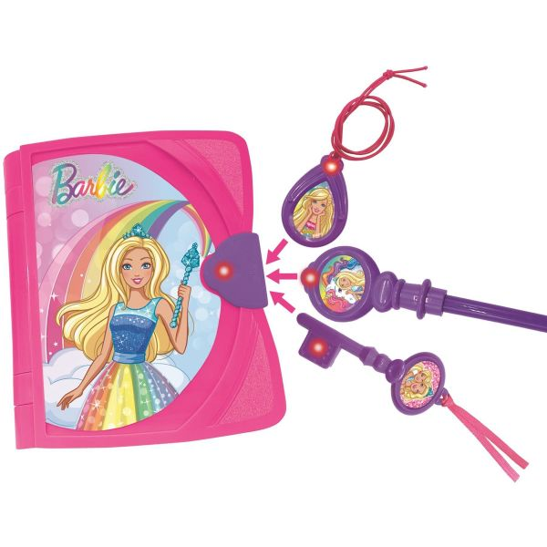 Barbie Electronic Secret Diary with a Unicorn plush and accessories