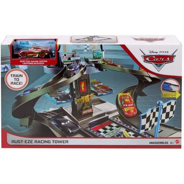 Disney Cars Rust-eze Racing Tower